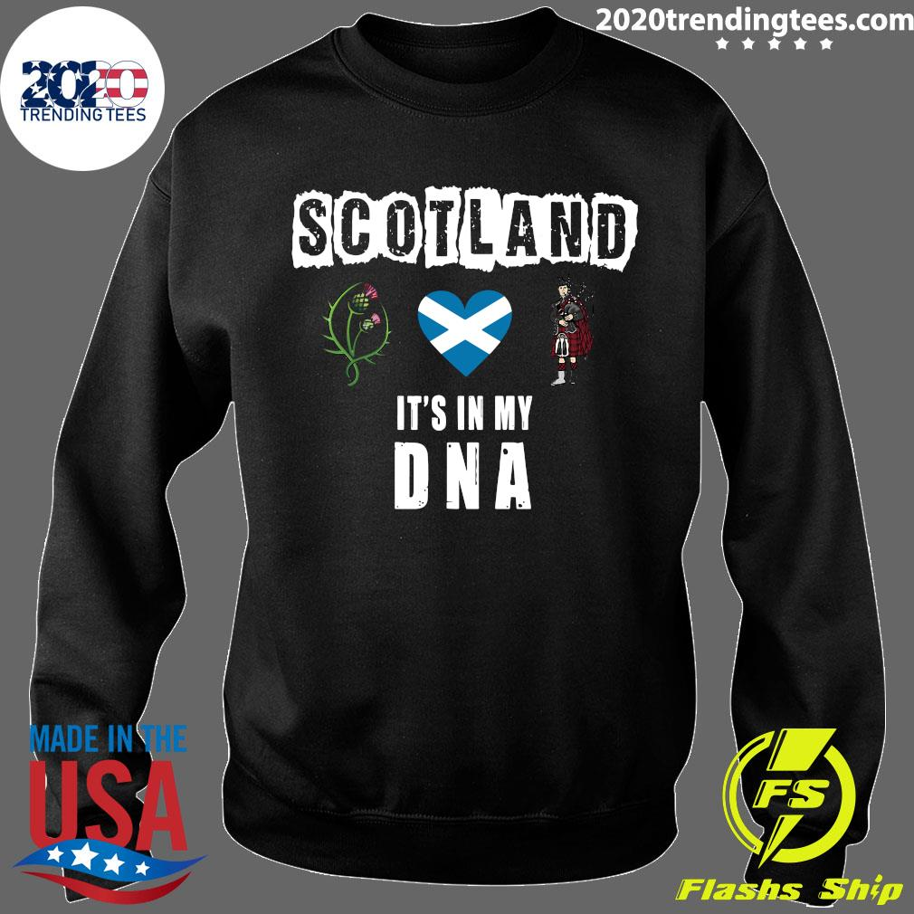 Scotland It's In My Dna Shirt Sweater