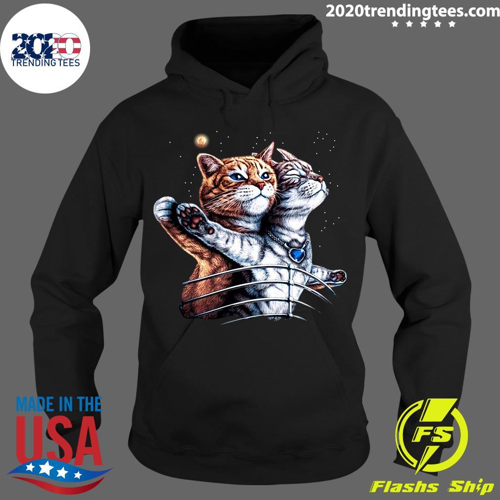 Titanic Cat Shirt Hoodie