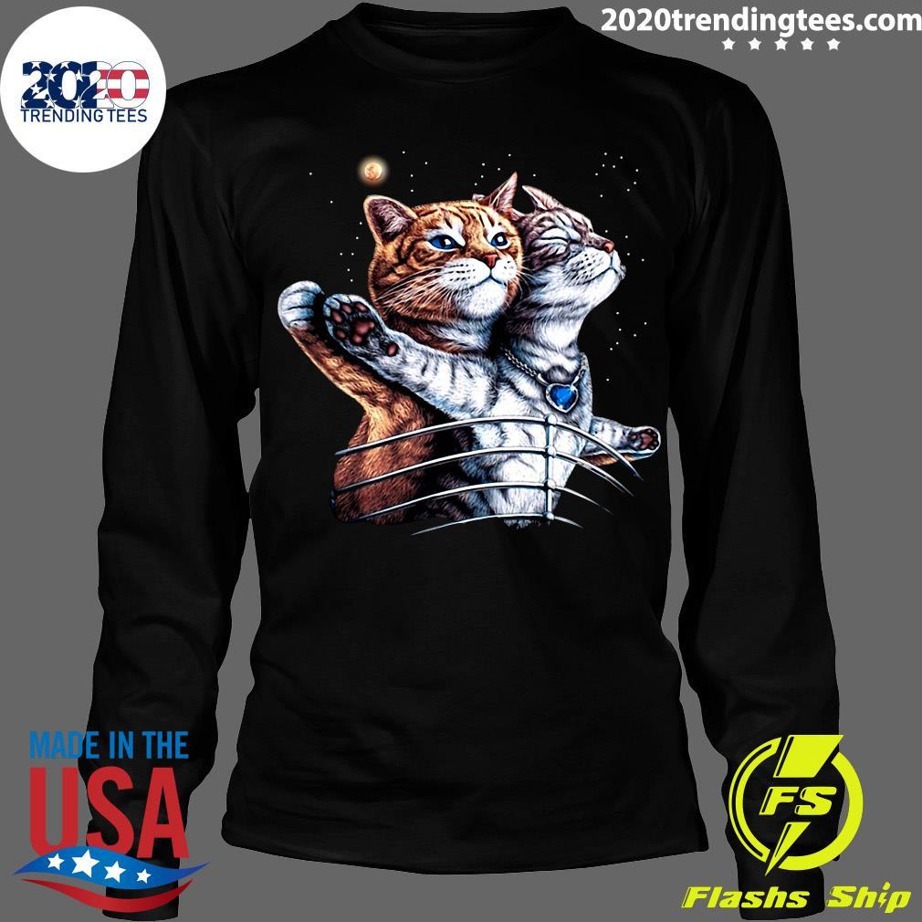 Titanic Cat Shirt Longsleeve