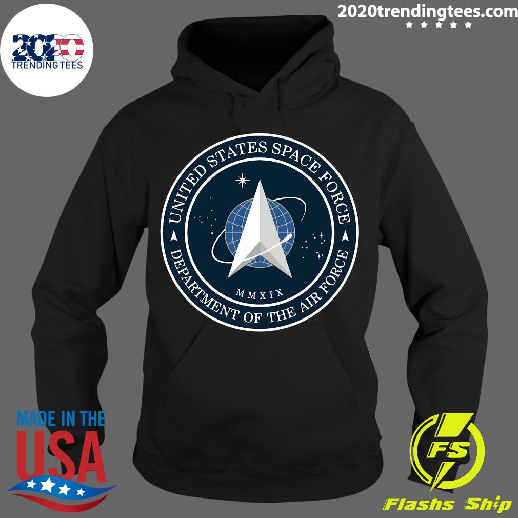 Us Space Force Ussf United States Space Force Logo Emblem Shirt Hoodie
