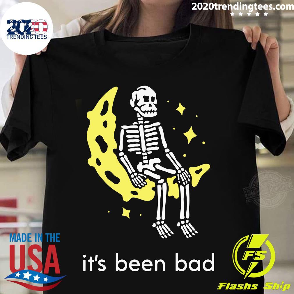Skull It's Been Bad Shirt